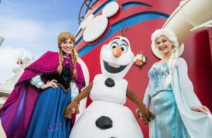 Disney Cruise Frozen Characters