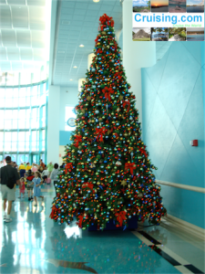 Disney-Cruise-Port-Canaveral-Christmas-Decorations
