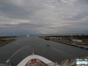 Port Canaveral from Disney Fantasy