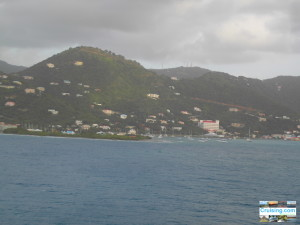 Tortola BVI from Cruise