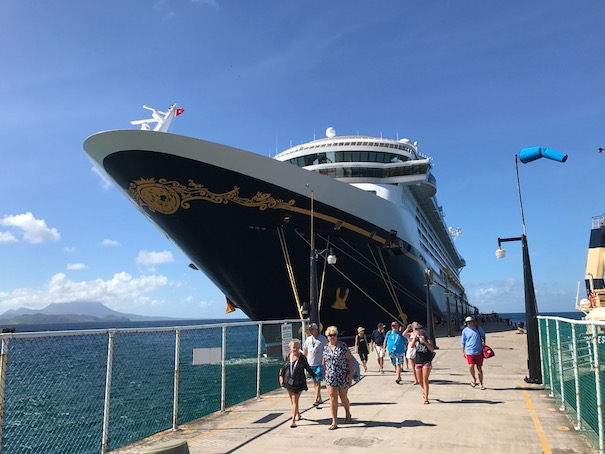 Disney Fantasy in St Kitts