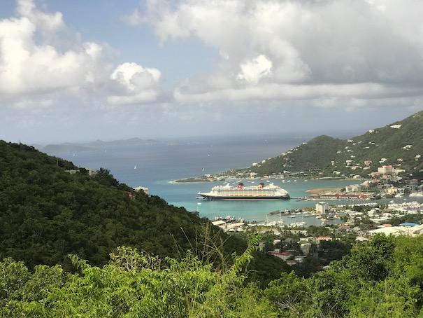 The Disney Fantasy in Tortola